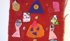 Symmetrical Felt Wall Hangings