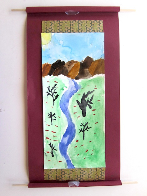Chinese Landscape Scroll Painting Chinese Landscape Scrolls