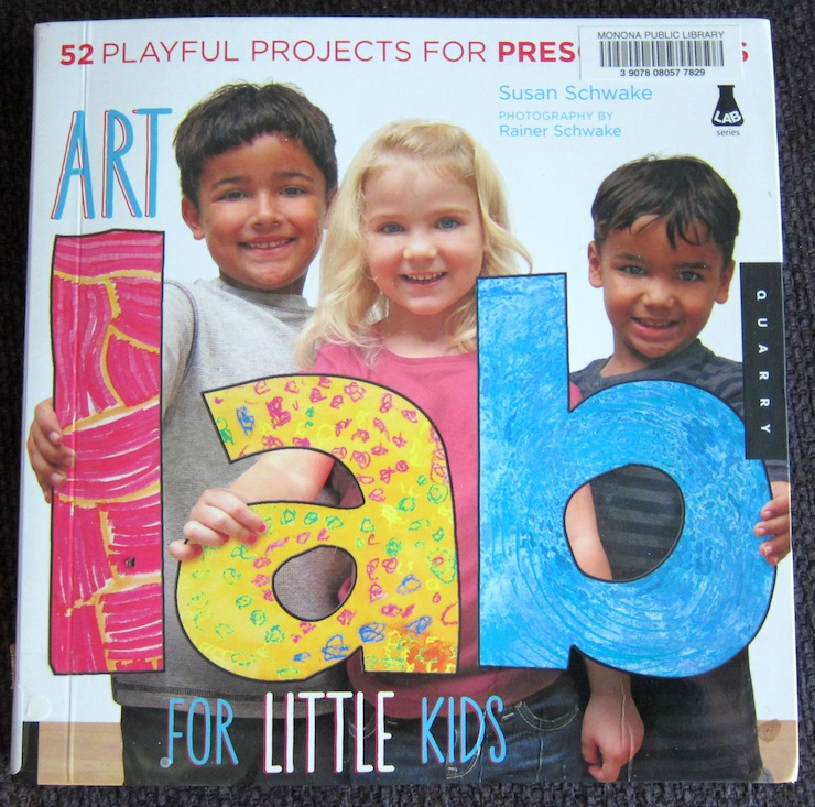 Preschool Art Book
