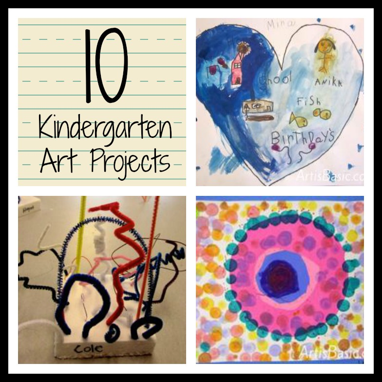 Favorite Art Projects for Kids: Roundup of Kindergarten ...