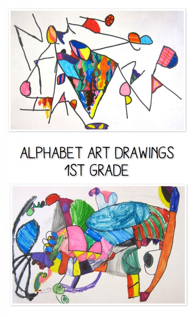 letter art alphabet alphabet project for 1st grade 15535 | alphabet art 631x1024
