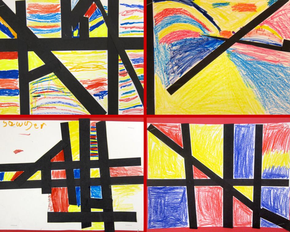 Piet Mondrian Video Kids